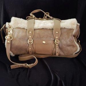 New, Authentic UGG Leather Handbag